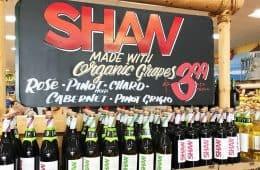 Trader Joe's Charles Shaw organic wines