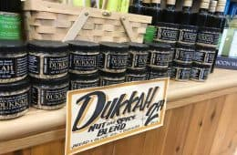 dukkah spice for sale at Trader Joe's