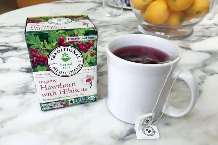 Traditional Medicinals organic hawthorn berry tea
