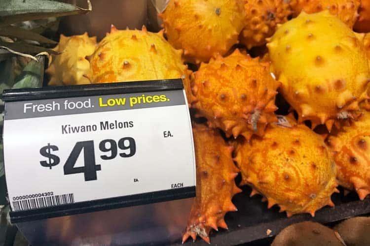 kiwano fruit for sale
