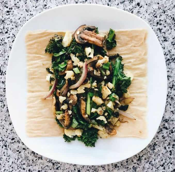 low carb wrap by Coco Nori