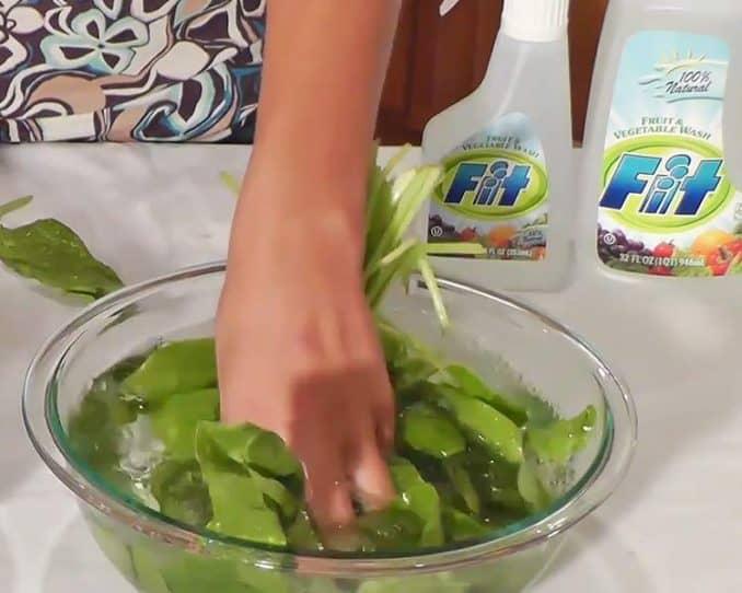 Fit vegetable wash
