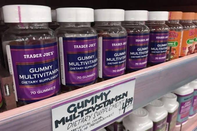 Trader Joe's gummy multivitamin