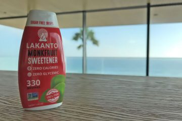 Lakanto liquid monk fruit sweetener