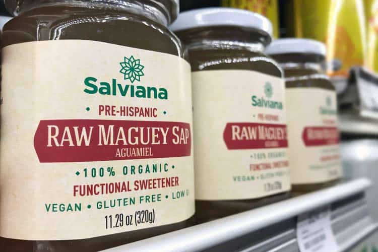 organic maguey sap