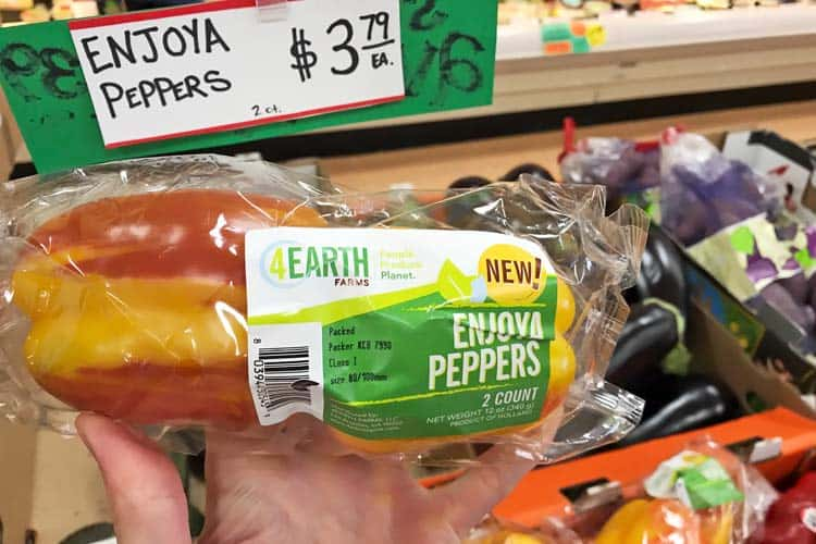 Trader Joe's Enjoya striped peppers for sale