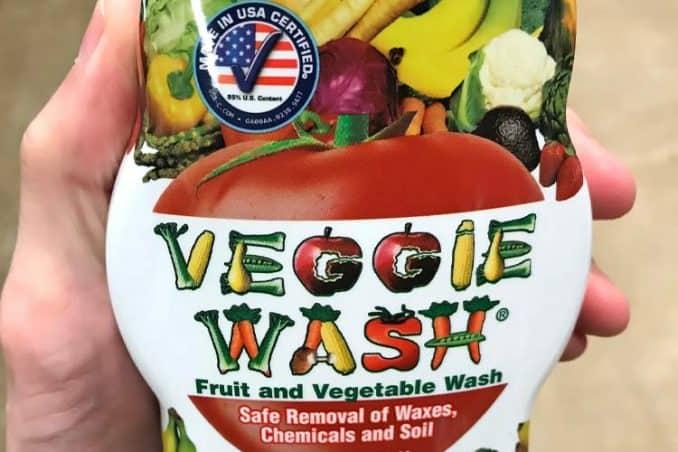 Veggie Wash spray
