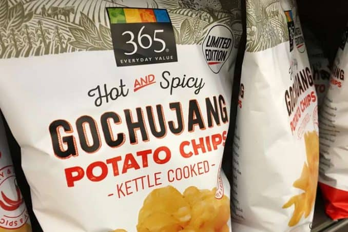 Whole Foods 365 gochujang kettle-cooked potato chips
