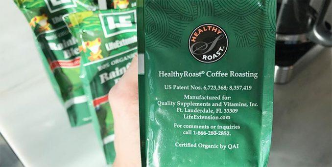 Healthy Roast antioxidant coffee