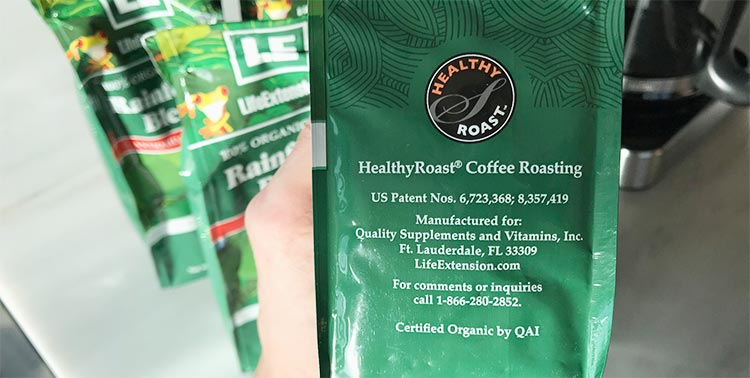 Healthy Roast antioxidant coffee