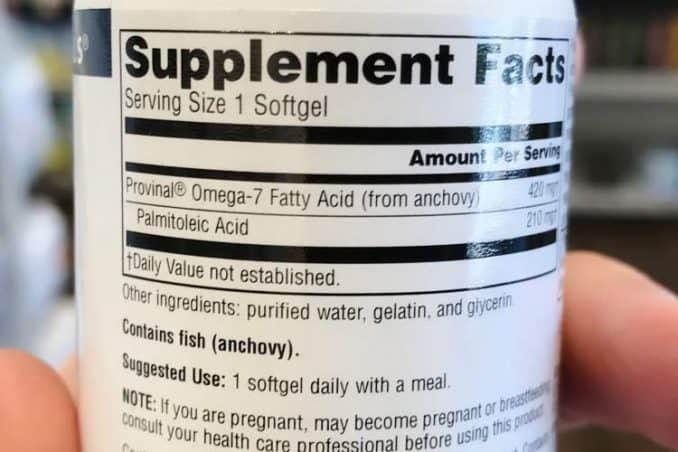 Provinal omega 7 weight loss dosage