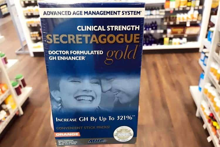 clinical strength MHP Secretagogue Gold at Vitamin Shoppe