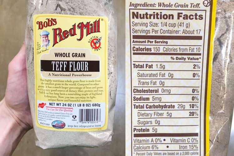 teff nutrition facts