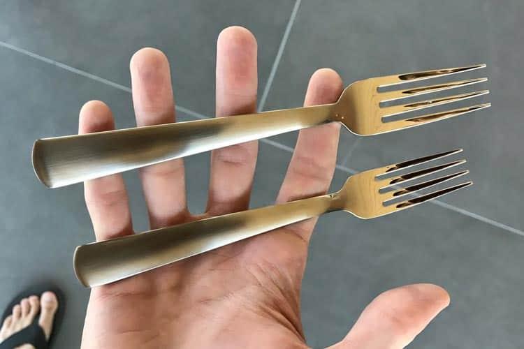 Liberty dinner fork and salad fork