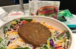 Trader Joe's high protein veggie burger