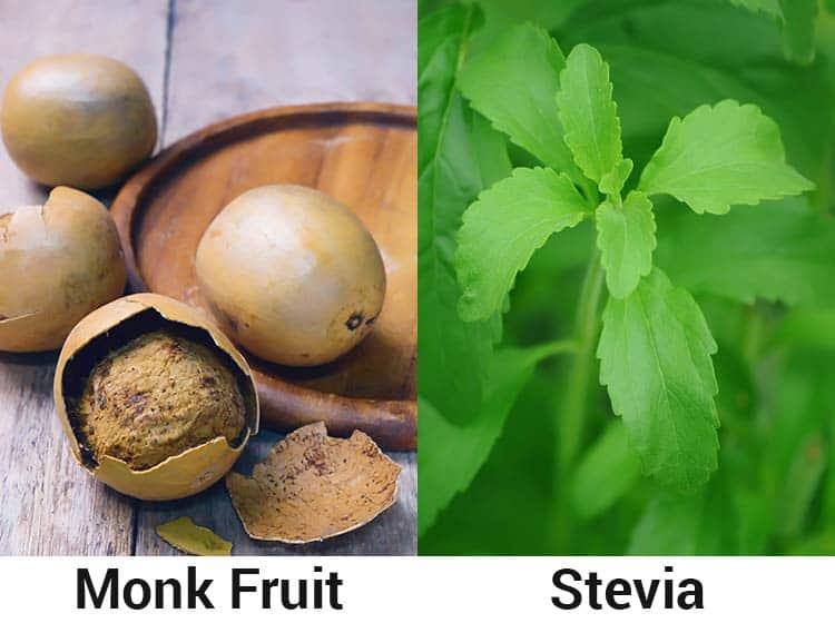 monk fruit vs stevia