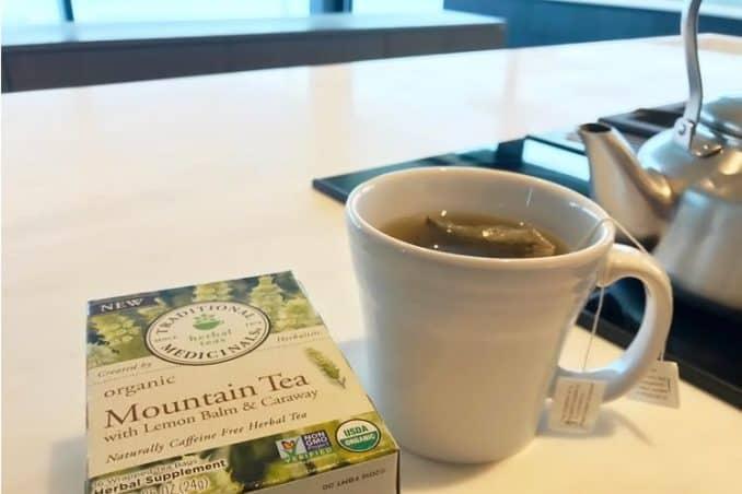 organic mountain tea