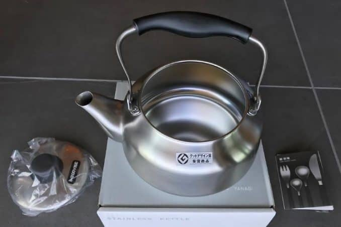 Sori Yanagi tea kettle matte stainless steel