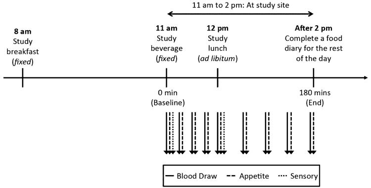 sweetener study protocol