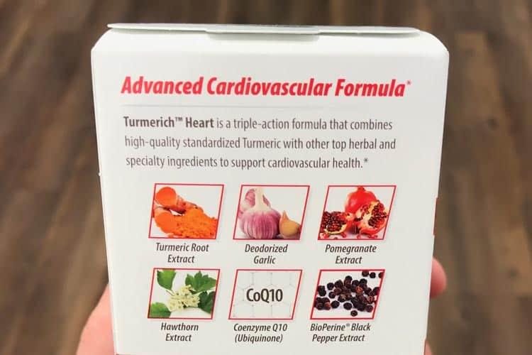 Turmerich heart ingredients