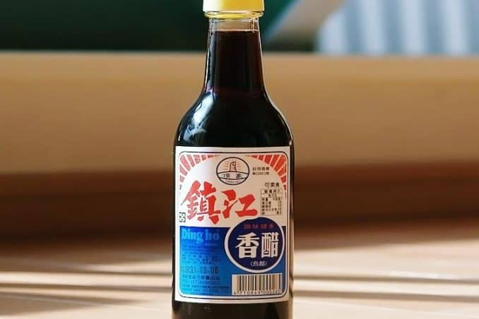 Japanese black vinegar