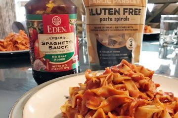 Eden organic spaghetti sauce no salt added