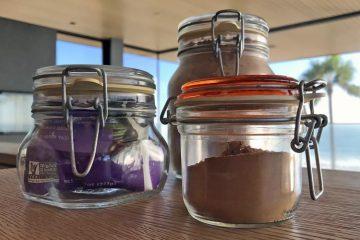 Fido glass jars