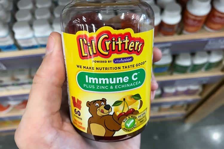 L'il Critters vitamin C gummy bears