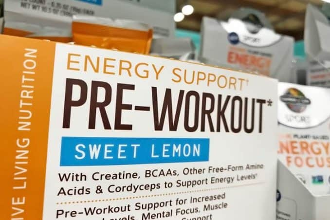 creatine pre-workout energy supplement