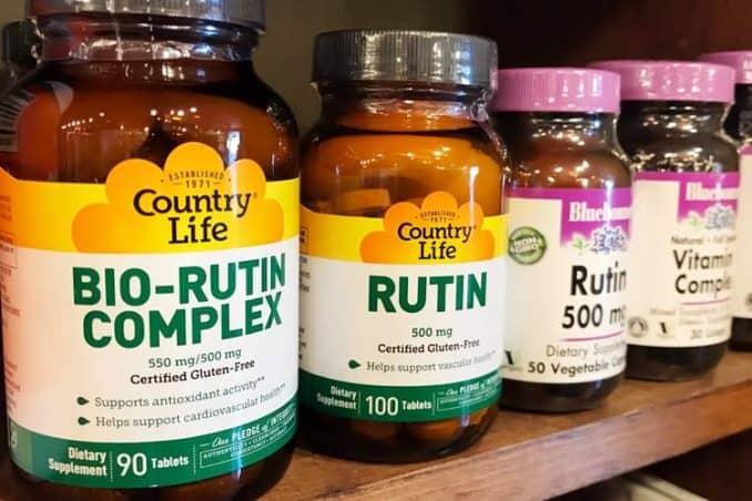 rutin supplement