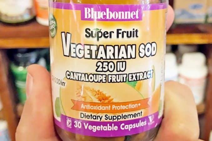 superoxide dismutase supplement