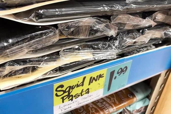 squid ink pasta for sale