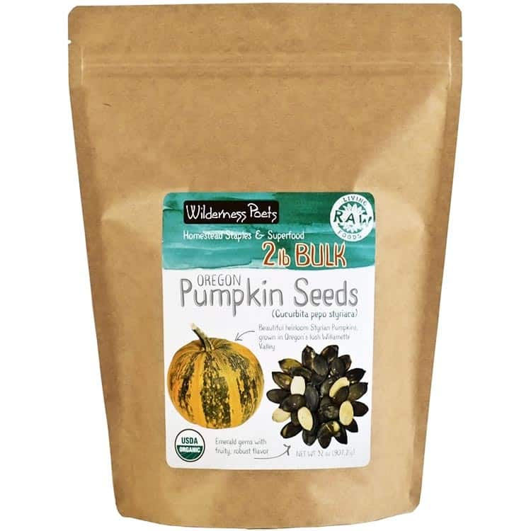 Wilderness Poets pumpkin seeds