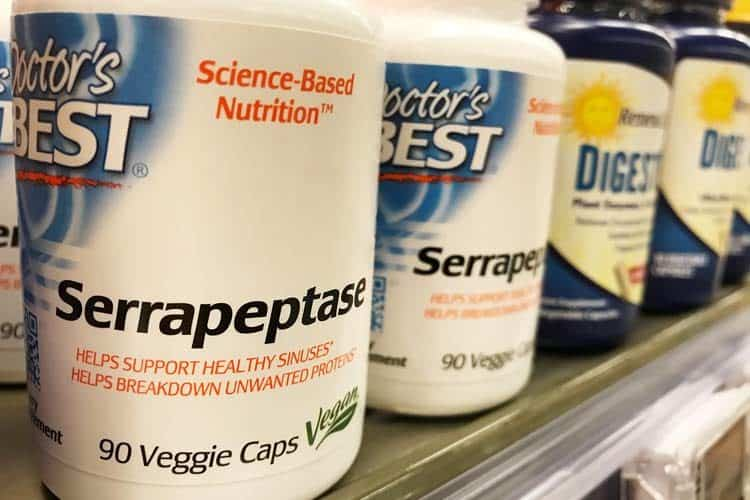 serrapeptase supplement