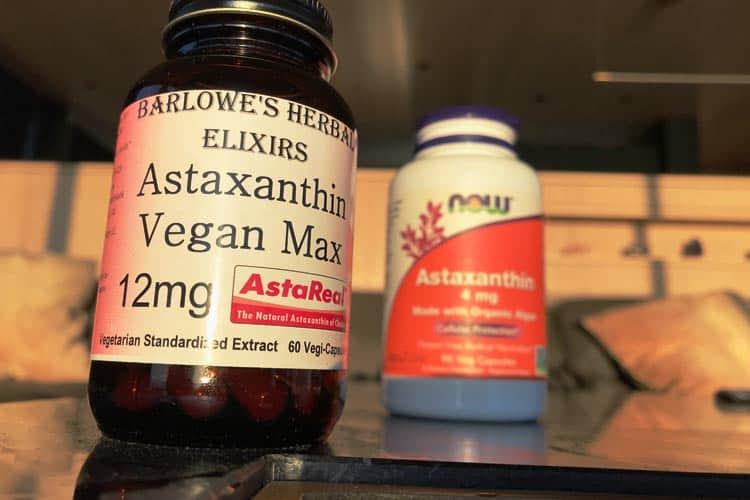 astaxanthin vegan