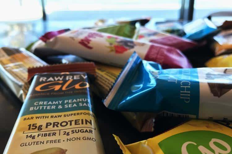 low sugar protein bars