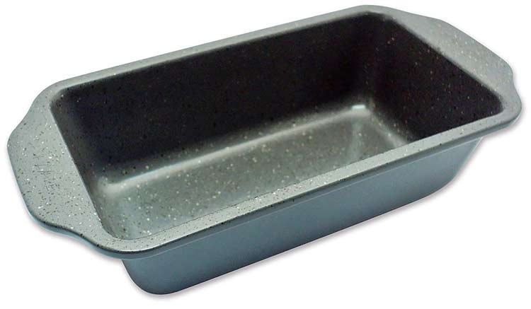 Casaware loaf pan in graphite grey