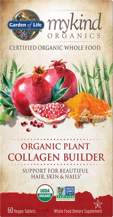 mykind organics plant collagen builder