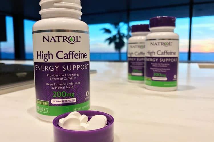 Natrol High caffeine 200 mg tablets