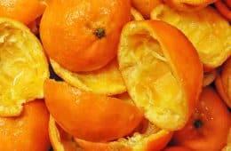 tangerine peels