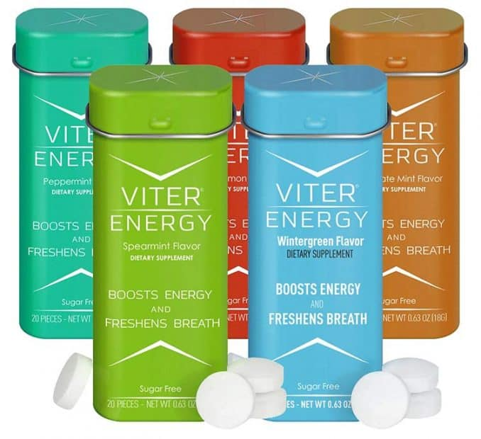 Viter Energy 40 mg caffeine supplement