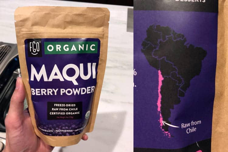 Feel Good Organics maqui powder