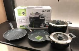 GreenPan Levels Essentials cookware set